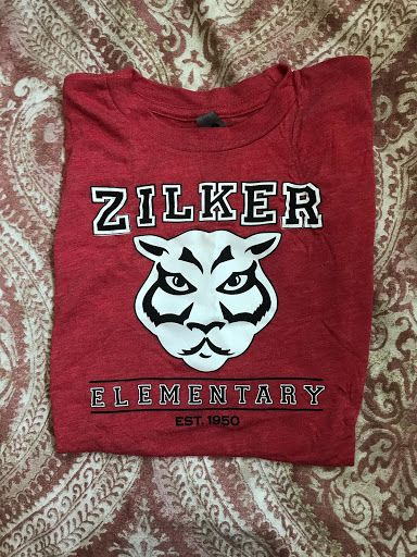 Vintage Panther Face Zilker Shirt Youth Red