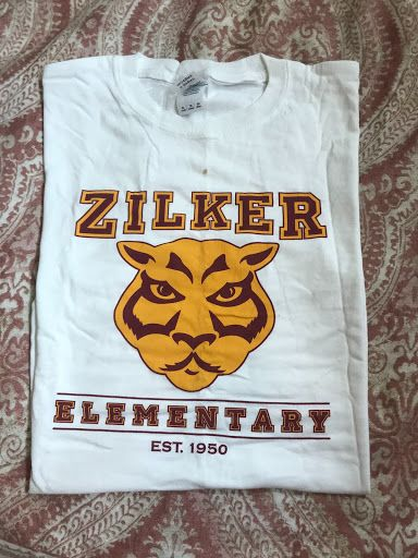 Vintage Panther Face Zilker Shirt Youth White